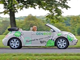 VW Bio-Bug: Otev�en� New Beetle na bioplyn z lidsk�ch exkrement�