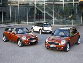 Mini: Nové turbodiesely s kombinovanou spotřebou 3,8 l/100 km