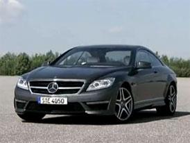 Video: Mercedes-Benz CL 63 AMG – Exteriér kupé s novým osmiválcem