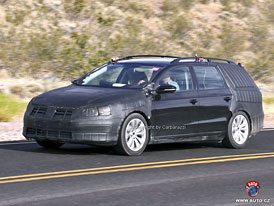 Spy Photos: Volkswagen Passat Variant (nové fotografie)