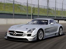 Mercedes-Benz SLS AMG GT3: Další křídla pro křídláka