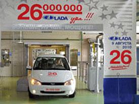 Ruská Lada vyrobila 26miliontý vůz