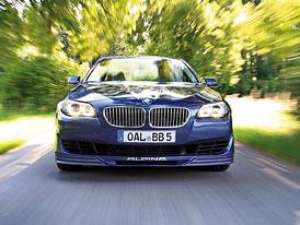 Alpina B5 Bi-Turbo: Předskokan BMW M5 (nové fotografie a informace)