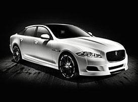 Jaguar XJ75 Platinum: Koncept k jubileu se ukázal v Pebble Beach