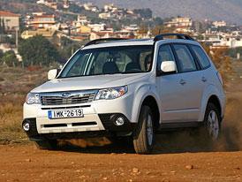 Subaru Forester 2,0D Trend: Nový naftový základ o 100 tisíc Kč levněji