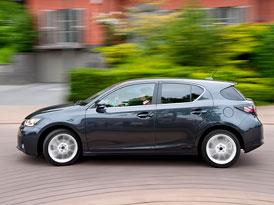 Lexus: CT200h nabídne nejlepší posaz ze všech dosavadních Lexusů