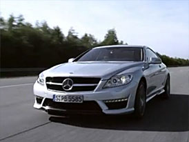 Video: Mercedes-Benz CL 63 AMG – Kupé na testovacím okruhu