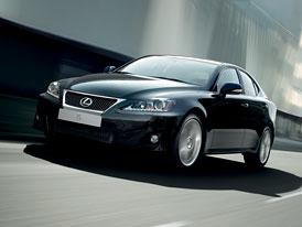 Lexus: Optimalizace IS 250 a IS 220d, nový motor v IS 200d