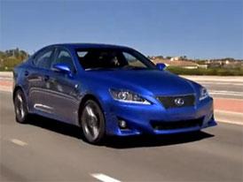Video: Lexus IS F-Sport – Modernizovaný sportovní sedan