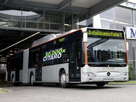 Mercedes-Benz Citaro: 30 tisíc nízkopodlažních autobusů za 12 let