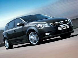 Kia Cee'd 1,4 CVVT (77 kW): Silnější základ nyní za 219.980,-Kč