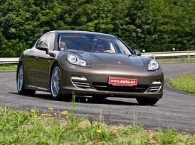 Porsche Panamera 4S: První jízdní dojmy