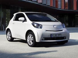 Elektrická Toyota iQ v roce 2012