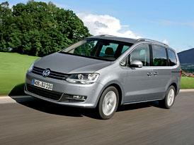 Volkswagen Sharan: Ceny nové generace začínají na 659.600,- Kč
