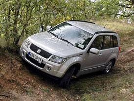 První jízdní dojmy v terénu: Suzuki Grand Vitara