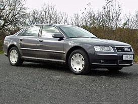 Audi A8 - první jízdní dojmy!