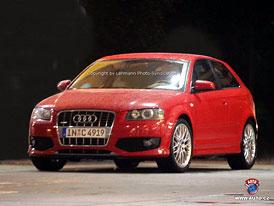 Spy photos: Audi S3 zcela bez maskování