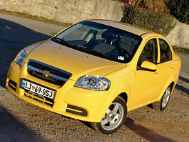 Chevrolet Aveo: prvn� j�zdn� dojmy