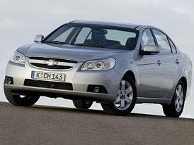 Chevrolet Epica: nejdostupnější šestiválce na trhu