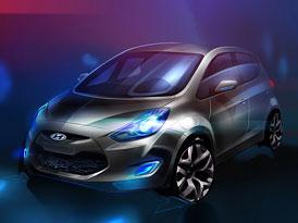 Nový Hyundai z Nošovic se jmenuje ix20. Uvidíme jej v Paříži