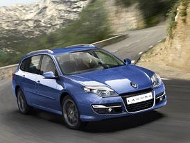Renault Laguna: Designové retuše, nižší spotřeba a řízení všech kol pro více motorizací