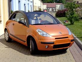 Citroën C3 Pluriel – první jízdní dojmy