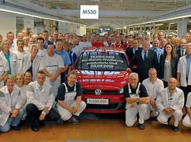 VW Golf: 15 milionů Golfů z Wolfsburgu