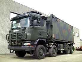 Scania: 119 vojenských vozidel pro Lucembursko a Švédsko