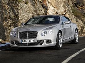 Bentley Continental GT 2011: Designov� a technick� modernizace, motory V8 a W12