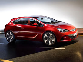 Opel Astra GTC Paris: Rackem inspirovaný koncept