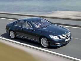 Mercedes-Benz CL dostal nový aktivní podvozek