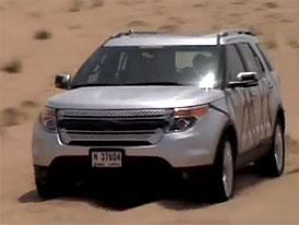 Video: Ford Explorer – SUV při testování v Dubaji
