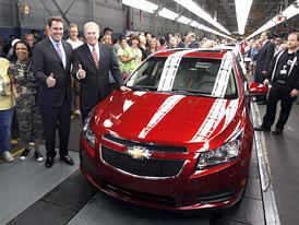 Chevrolet Cruze: V�roba v USA zah�jena