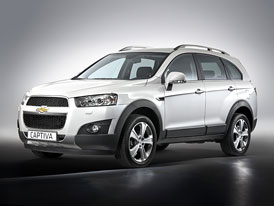 Chevrolet Captiva po faceliftu: Prvn� fotografie