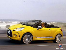 Kabriolet Citroën DS3 přijde na trh příští rok