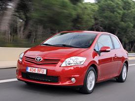 Toyota Auris: Nová první cena 289.900,-Kč