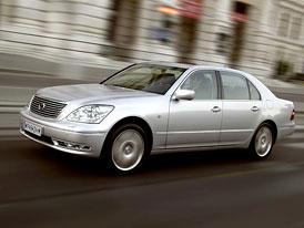 Nový japonský Mercedes: Lexus LS430