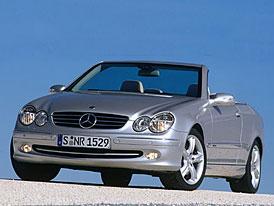 Mercedes-Benz CLK Cabrio - první fotografie
