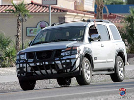 Spy Photo: facelift pro americký Nissan Armada