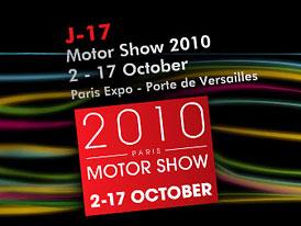 Autosalon Paříž 2010 živě na Auto.cz: Začínáme dnes večer