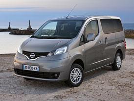 Nissan NV200 Evalia: Ještě více osobní dodávka na IAA