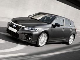 Lexus CT 200h: Spotřeba 3,8 l/100 km, cena 699.000,-Kč