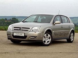 Opel Signum – první jízdní dojmy