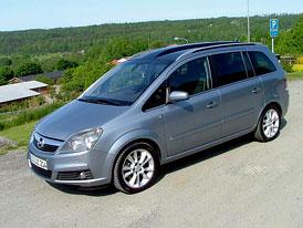 Nový Opel Zafira – první jízdní dojmy