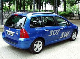 Peugeot 307 Break a 307 SW již v prodeji
