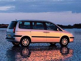 Peugeot 807 - Jedno z čtyřčat již v ČR