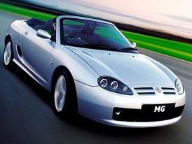 Roadster MGF bude nahrazen novým TF