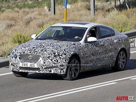 Spy Photos: Jaguar XF – Restyling ve stylu nového XJ