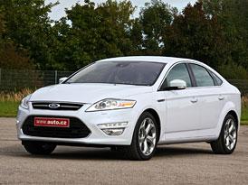Ford Mondeo 2,0 SCTi EcoBoost (176 kW): První jízdní dojmy
