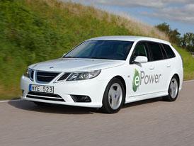 Saab 9-3 ePower: První elektromobil švédské značky